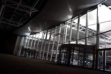 Brest Bretagne Airport, main airport of the region of Brittany Aerogare Brest.jpg