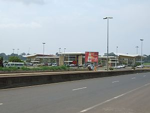 Malabo International Airport - Image: Aeropuerto de Malabo