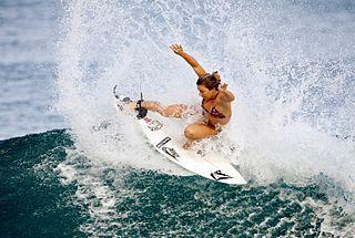 Coco Ho American surfer