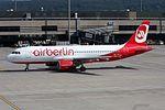 Air Berlin (Belair) Airbus A320-214 HB-IOP (21278824548).jpg