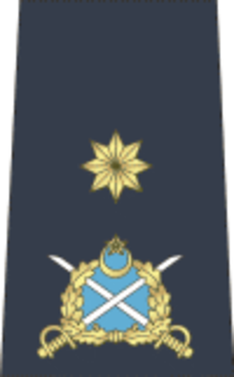 One-star rank - Pakistani air commodore 's rank insignia.