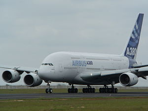 Airbus A380 at Tambo Airport.jpg