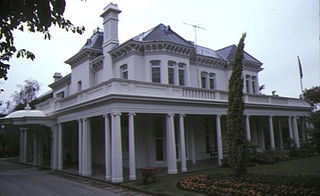 Airlie, South Yarra, Melbourne historic house in South Yarra, Melbourne, Australia