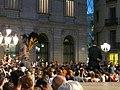 Ajuntament - Arribada de la xambanga de gegants P1160539.JPG