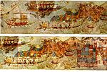 Akrotiri ship-procession-full 02.jpg