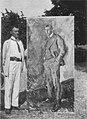 Aksel Johannessen - Munch mit dem Porträt von Jappe Nilssen big.jpg