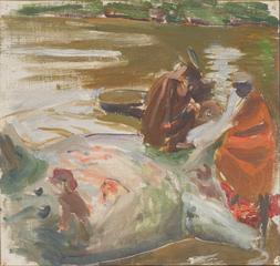 Skinning A Hippopotamus