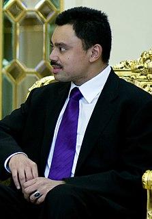 Al-Muhtadee Billah Pengiran Muda Mahkota (Crown Prince) of Brunei