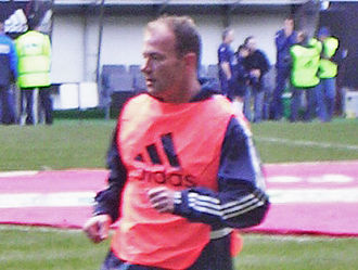 Alan Shearer - Shearer training in 2005