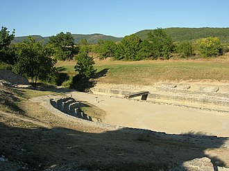 Archeological site of Alba-la-Romaine - The theater