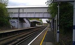 Albany Park Train Station platform.jpg