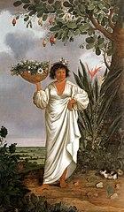 Portrait of a Mameluca Woman