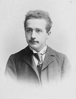 Albert Einstein c1890s