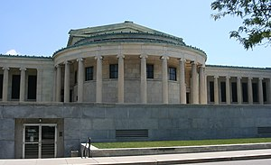 National Register of Historic Places listings in Buffalo, New York - Image: Albright Knox Art Gallery 1