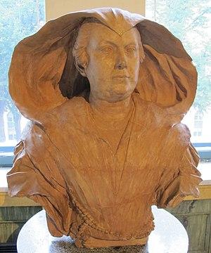 Olimpia Maidalchini - Algardi's bust of Maidalchini