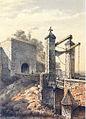 Alexander Schaepkens, veldzijde Boschpoort, Maastricht , 1872.jpg