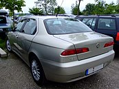 New rear end in second series (2003)