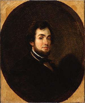 Alfred Jacob Miller - Self-Portrait, c. 1850