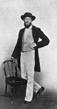 A. R. Wallace in Singapore in 1862