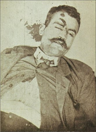 Alfredo Luís da Costa - Alfredo Costa on the date of his death, after the assassination of King Carlos I and the Crown Prince, 2 February 1908
