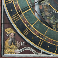 14th century painting of Ali Ibn Ridwan (astronomical clock in St. Nicholas' Church (Stralsund)