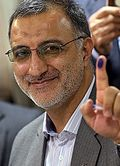Alireza Zakani in the election commission.jpg