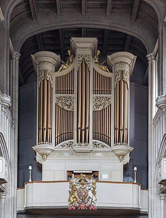 All Hallows-by-the-Tower - The organ