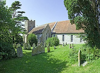 All Saints' Church, Calbourne - Image: All Saints' Church, Calbourne geograph.org.uk 539491