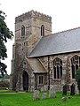 All Saints, Shouldham, Norfolk - Tower - geograph.org.uk - 321450.jpg