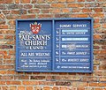 All Saints Church, Lund, Church Notices - geograph.org.uk - 527037.jpg
