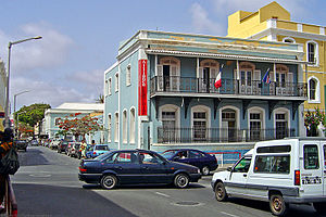 Alliance Française - Alliance Française in Mindelo, São Vicente Island, Cape Verde.