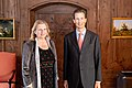 Alois of Liechtenstein and Karin Kneissl November 2018 (45170115774).jpg