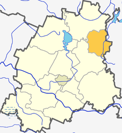 Location in the Plungė District Municipality