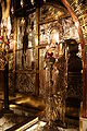 Altar of the Crucifixion right side, Holy Sepulchre 2010.jpg