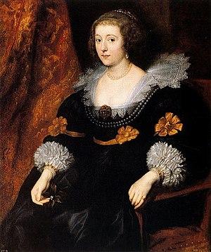 Amalie zu Solms-Braunfels Van Dyck 1631-32