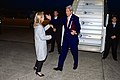 Ambassador Hartley Greets Secretary Kerry As He Arrives in France for VE Day, GCC Meeting in Paris, 7 May 2015.jpg