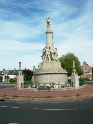 War memorials (Eastern Somme) - The Amiens war memorial