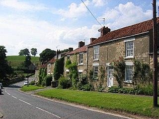 Ampleforth Village and civil parish in North Yorkshire, England
