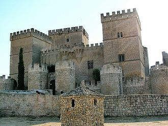 Ampudia - the medieval 'Castle of Ampudia'