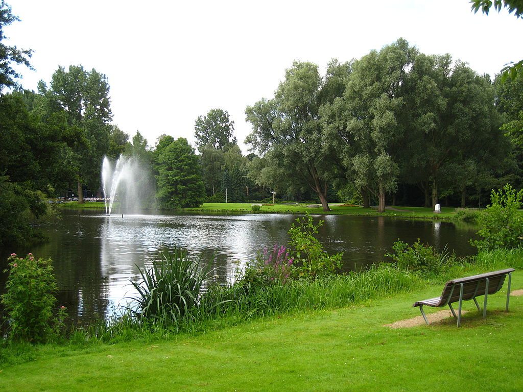 Plan d'eau de l'Amstelpark à Amsterdam - Photo d'Arthena