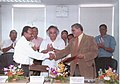 An MoU signed between DVC and Tata Power in the presence of Minister of State for Commerce and Power, Shri Jairam Ramesh, in Kolkata on September 26, 2008.jpg