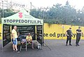 An anti-LGBT group & police on the streets of Warsaw 2.jpg