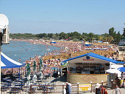 A beach in Anapa