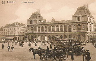 Brussels-North railway station - Image: Ancienne Gare du Nord Bruxelles