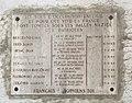 Ancienne prisons Saint-Paul et Saint-Joseph - mémorial aux victimes.JPG