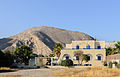 Ancient Thera on Messa Vouno seen from Perissa - Santorini - Greece - 01.jpg