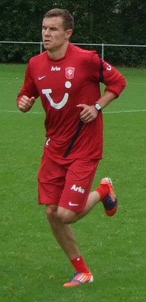 Andreas Bjelland - Bjelland training with FC Twente in 2012.