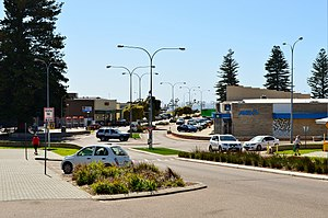 Esperance, Western Australia - View of the Esperance CBD, 2012.