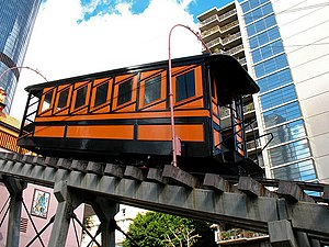 Downtown Los Angeles - Angels Flight, November 2008