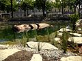 Animaux de la place Napoléon, La Roche-sur-Yon, hippopotame.JPG